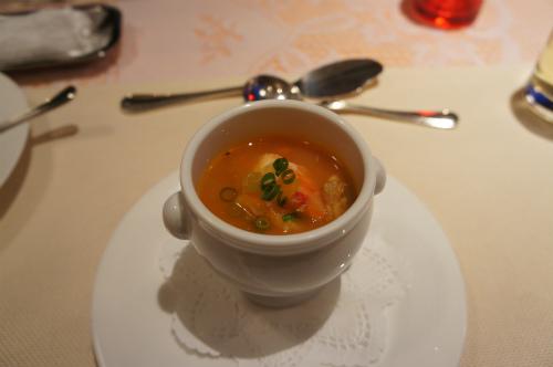 たらば蟹のオリジナルスープ