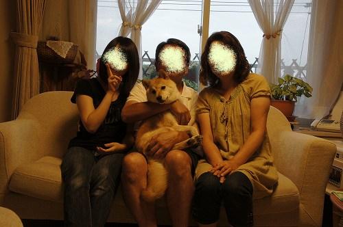 家族写真2011