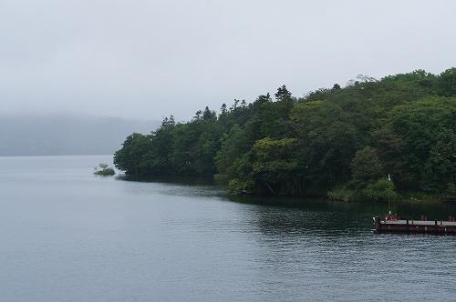 阿寒湖の朝