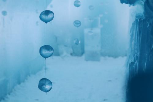 氷濤まつり・・ねーちゃん撮