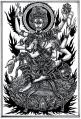 軍荼利明王像