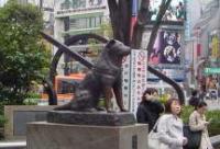 東京渋谷 忠犬ハチ公像
