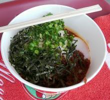 09.10.10 汁なし坦々麺