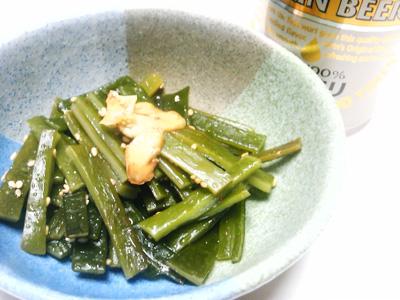 茎ワカメの炒め煮
