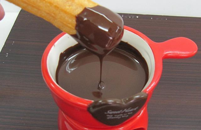 チョコフォンデュ2
