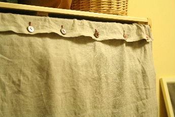 棚用カーテン
