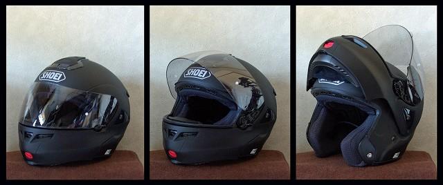 ヘルメット オープン!