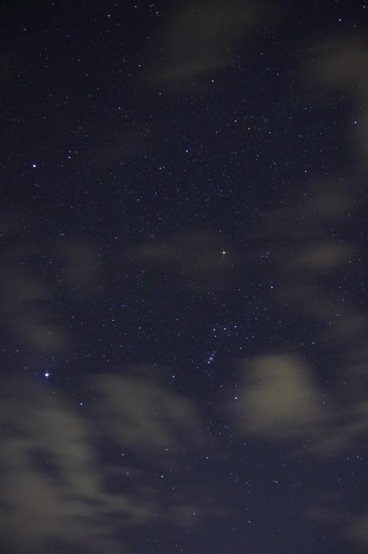 星景写真(補正前)