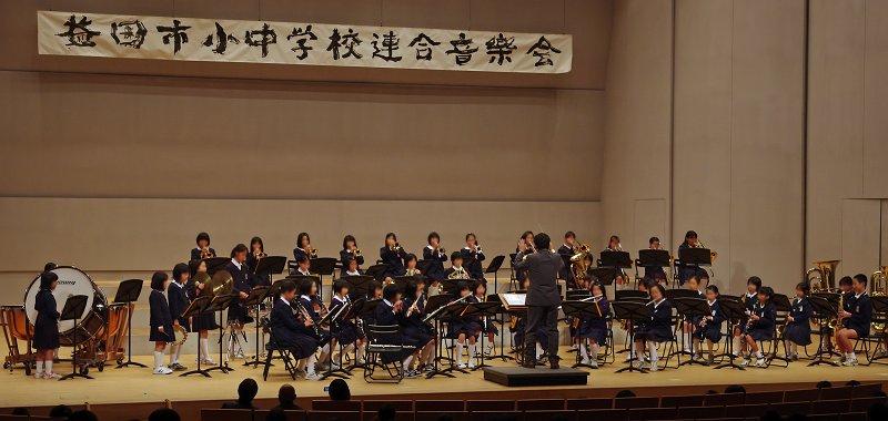 益田市小中学校連合音楽祭