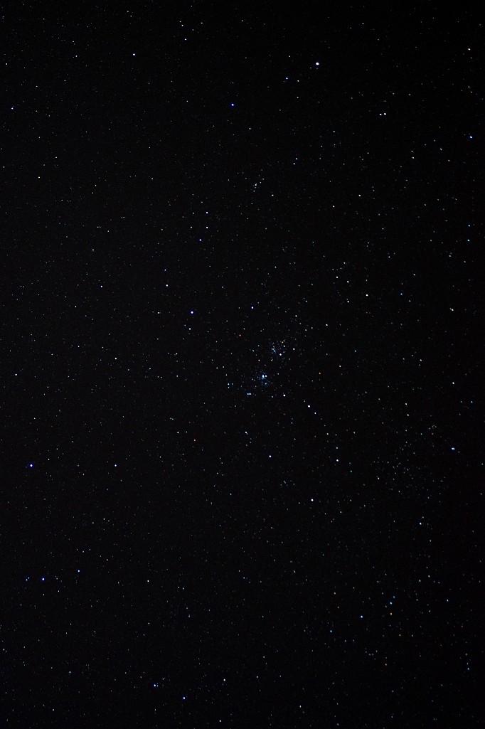 ペルセウス座 二重星団