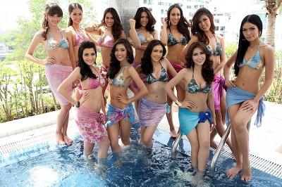 タイ ミス・ユニバースタイランド2012 水着画像
