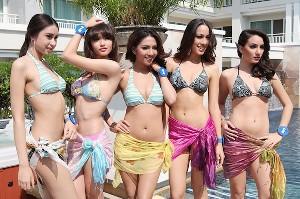 タイ ミス・ユニバースタイランド2012 水着写真