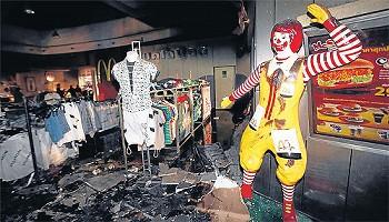 タイ 爆弾テロ写真 マクドナルド