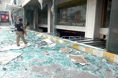 タイ 爆弾テロ写真