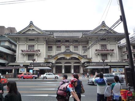 歌舞伎座遠景①