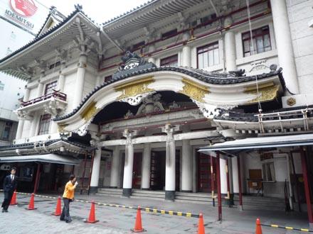 歌舞伎座正面近景①