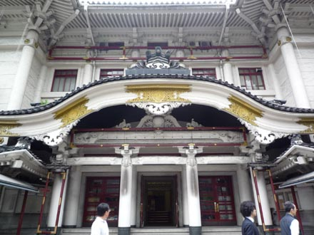 歌舞伎座正面近景②