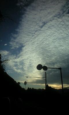 秋の夕日1