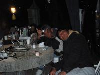 こちらはダッチオーブンで燻製造り中 2010/5/2~5/9