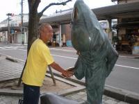 ねずみ男と握手中 2010/5/2~5/9