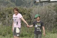 母と子 いい写真です(≧▽≦) きなこと仲良くしてくれてありがとう~ 2010/5/2~5/9