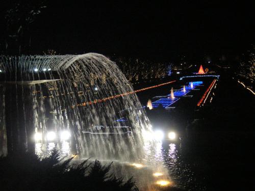 大噴水とカナール