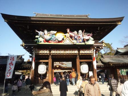 寒川神社 1