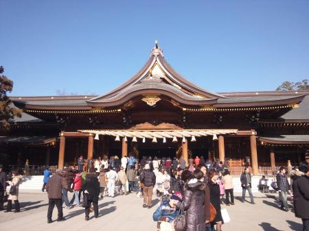 寒川神社 2