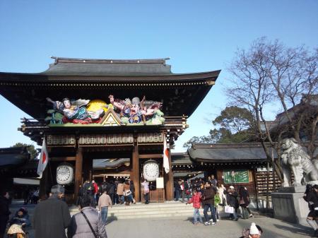 寒川神社 4