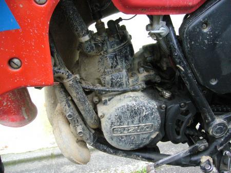 RA125洗車 2