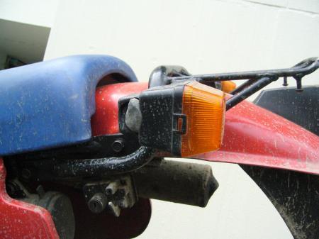 RA125洗車 3