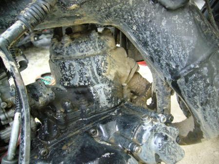 RA125洗車 4
