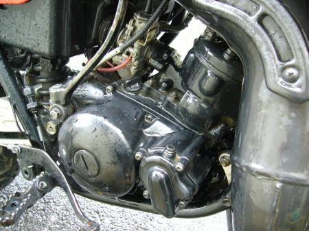 RA125洗車 6