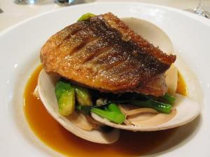 restauran27魚のポワレ