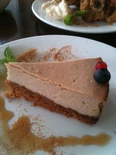 cafe8 豆腐のチーズケーキ