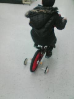 翔の自転車
