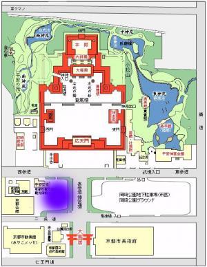 平安神宮周辺地図