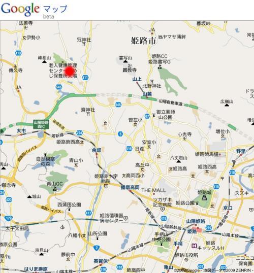 白鳥城地図1
