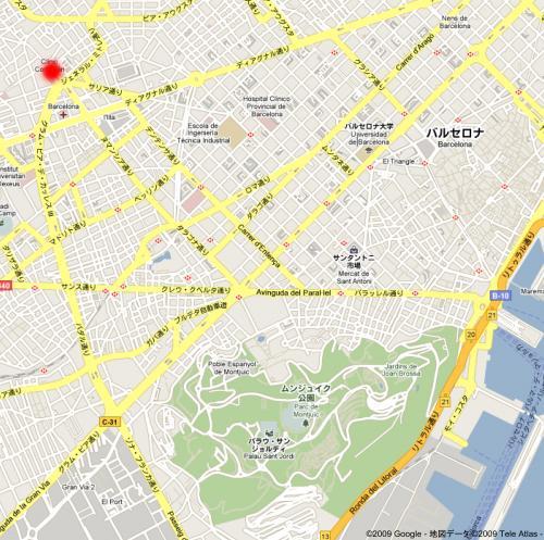 テレジア学院地図