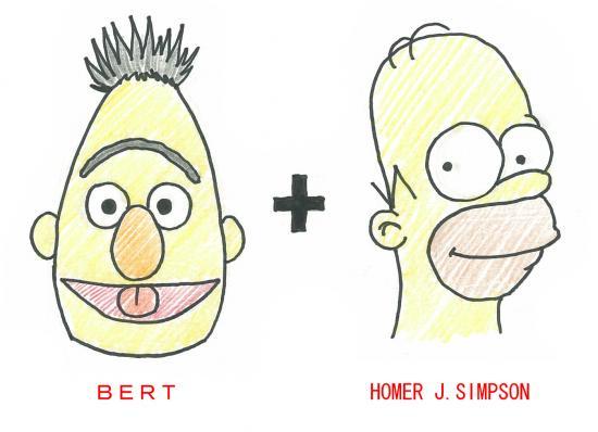 バート&ホーマー