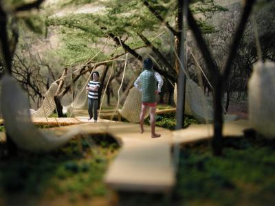 梅林の休憩所3