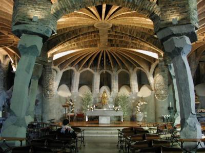 コロニア・グエル地下聖堂2