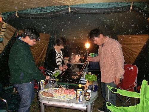 11.05.03 十種ヶ峰キャンプ 1
