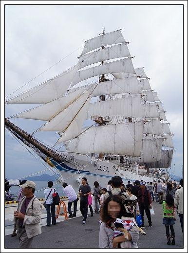 11.10.15 帆船まつり 海王丸 026