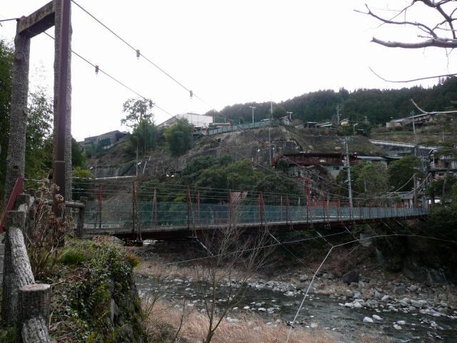 弁天橋東の吊橋8