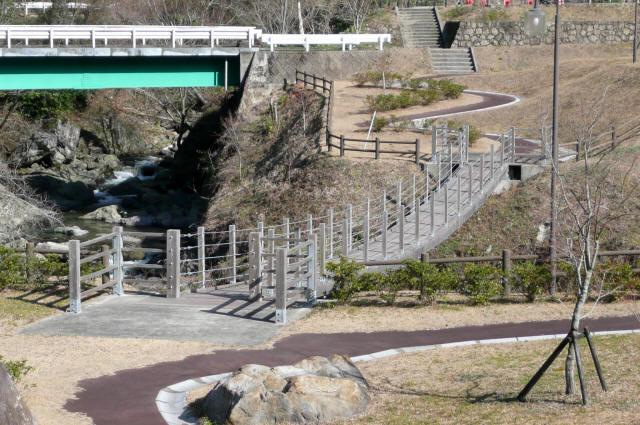 古屋敷もみじ吊橋1