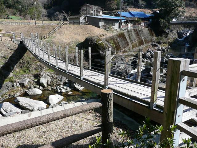 古屋敷もみじ吊橋4