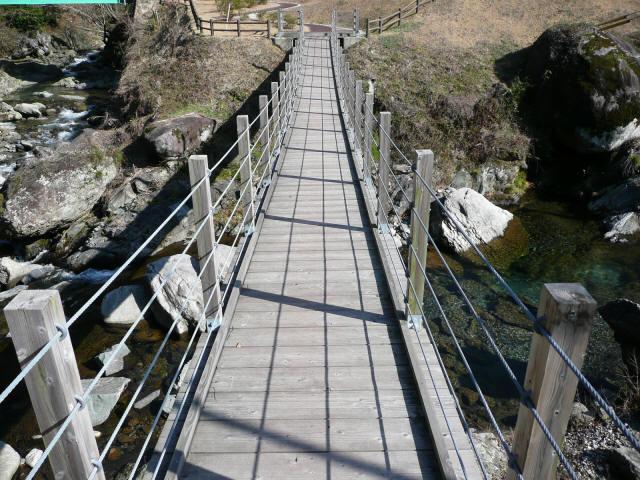 古屋敷もみじ吊橋5