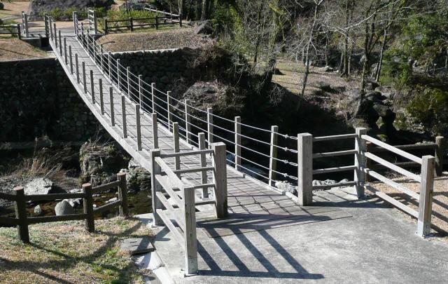 古屋敷もみじ吊橋9