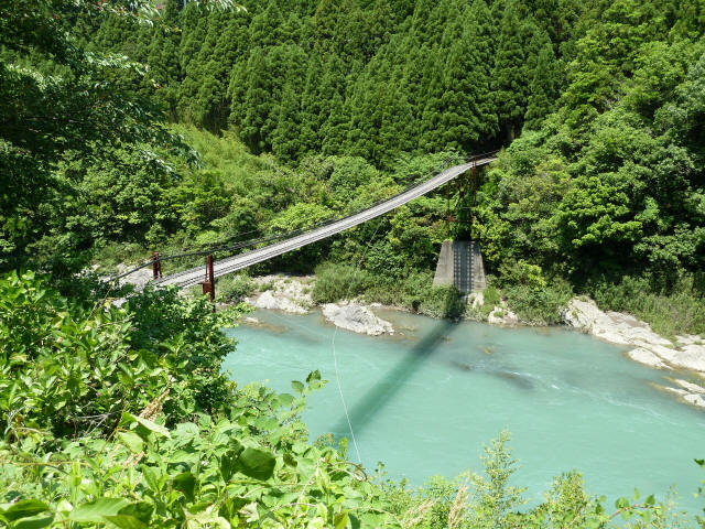 小家坂の吊橋1
